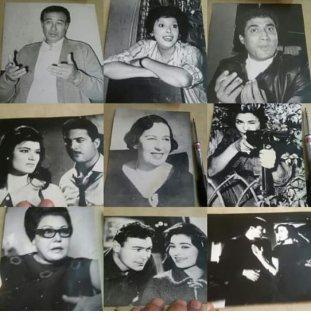 صور فنانين قديمه ومشاهير