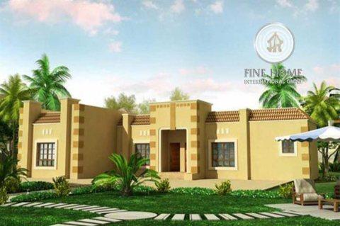 للبيع بيت شعبي فى منطقه الرحبه , ابوظبى