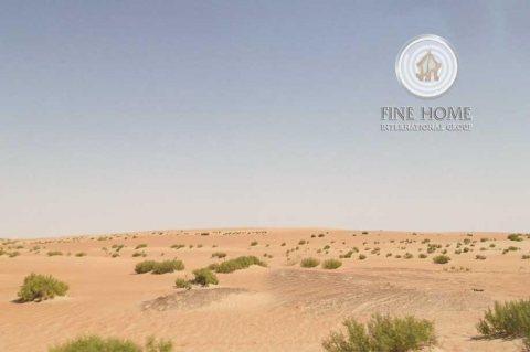 للبيع ارض سكنيه علي زاويه في منطقة الشامخة , ابوظبي