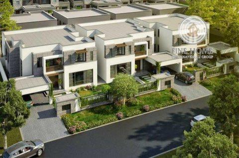 للبيع مجمع 3 فلل فخم جدا في مدينه شخبوط ,ابوظبي