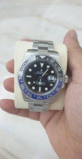 Rolex GMT Master II Black Dial Stainless Steel Men's Watch 116710 BLNR