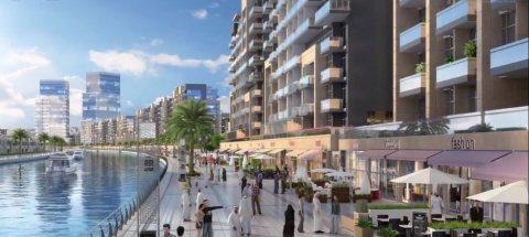 أفضل موقع في دبي ودفعة أولى 54 ألف درهم وإطلالة على قناة دبي المائية