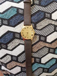 Raymond Weil Geneve Brown Leather Strap Quartz Watch