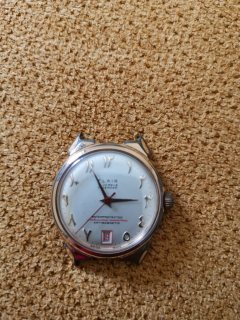 Vintage Flair Quartz Men's Watch
