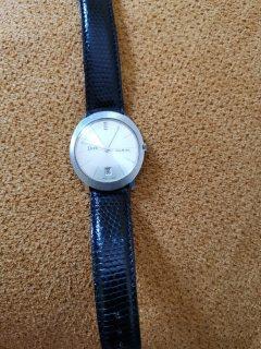 Vintage EDOX Dia matic luxury Watch