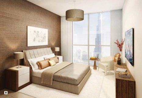 للبيع غرفتين و صاله في أبراج بلفيو وسط مدينة دبي 1750000 درهم