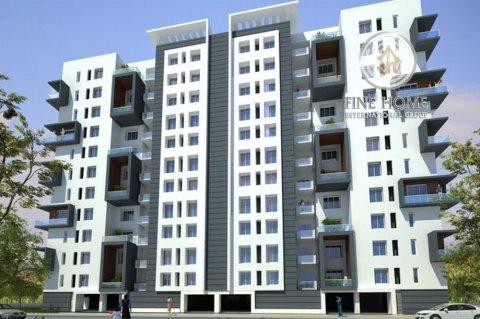 للبيع..بناية 12 طابق جديدة في معسكر آل نهيان أبو ظبي