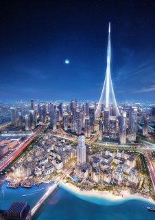شقق للبيع بمنطقة الخور بأفضل اطلاله على أطول برج فى العالم