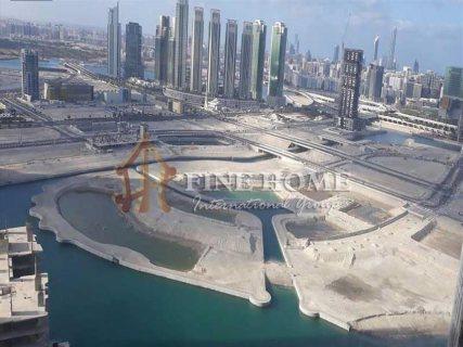 للبيع..أرض سكنية تجارية تصريح بناء 40 طابق في جزيرة الريم أبوظبي