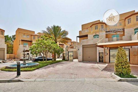 للبيع..فيلا 5 غرف فخمة في حدائق المشرف أبوظبي