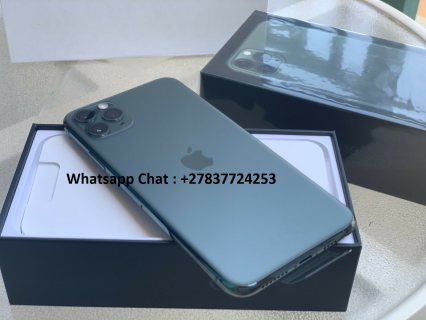Apple iPhone 11 Pro 64GB = $600, iPhone 11 Pro Max 64GB = $650, iPhone 11 64GB