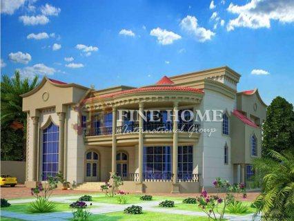 للبيع..فيلا 5 غرف في منطقة الزعفرانة أبوظبي