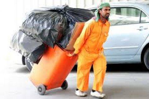شركة الخليج جوب توفر لكم عمال التنظيف لكل المساحات الكبرى