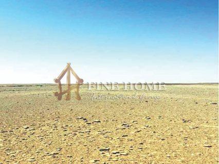 للبيع..أرض سكنية على شارع عام في منطقة الرحبة أبوظبي