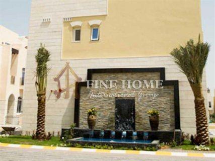 للبيع..فيلا 4 غرف مذهلة في حدائق القرم أبوظبي
