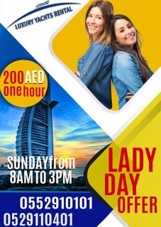 Ladies day Offers from LuxuryYachtRental