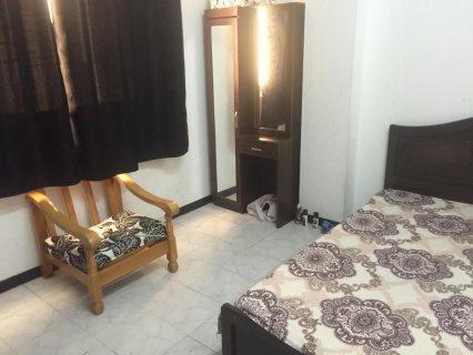 للايجار شقة مفروشة بالشارقة البوطينة غرفة وصالة بسعر ممتاز جدا مقابل