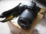 نيكون D90 كاميرا DSLR الأصلي مختومة في المربع