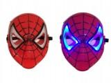 قناع ضوئي سبيدرمان  Spider man