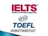 شهادات ايلتس توفل للبيع 00962790957027