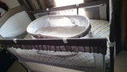 Baby bed with matress for sale