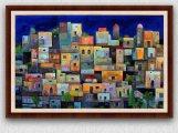 لوحة زيتية للفنان الأردني عصام طنطاوي
