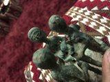 تمثال حميري مصنوع من البرونز