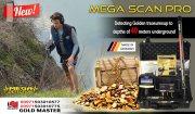 جهاز كشف الذهب والمعادن ميغا سكان برو   MEGA SCAN PRO