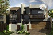 مجمع فيلتين 10 غرف نوم للبيع في مدينة محمد بن زايد أبو ظبي