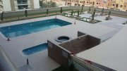 fully furnitured 1 bedroom apartment for rent in Dubai sport city only 60000