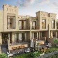 فيلا دورين مع حديقة  في دبي مليون درهم اقساط