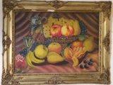 لوحة زيتية  قديمة أصلية للرسام ألبير