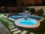 شركة تنسيق حدائق شلالات نوافير (حمامات سباحة) لاندسكيب