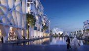 أكبر مشروع سكني متكامل في إمارة الشارقة بموقع مميز جدا يتوسط مطار الشارقة