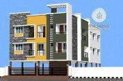 للبيع بناية  3 طوابق علي شارعين في مدينة محمد بن زايد