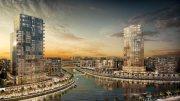 شقق عصرية في دبي بمقدم 10% واقساط ميسرة بمدسنة محمد بن راشد على القناة المائية