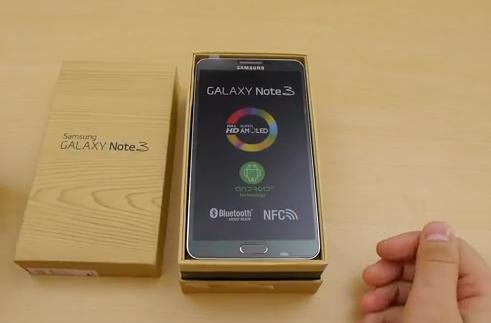 New Samsung Galaxy Note 3