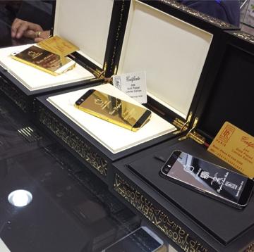 24 قيراط الذهب ابل اي فون 5S