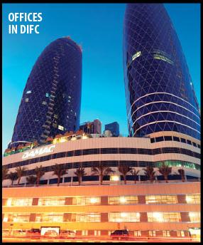 مكاتب للبيع فى dubai international financial center جاهزة للعمل